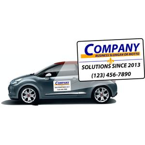 Custom Car Magnet Signs You Design It We Print It - Custom car magnets business
